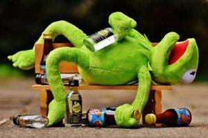 alcohol buikje