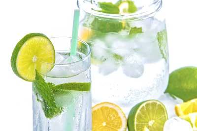 citroensap met water
