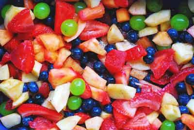 ongezonde voeding vermijden