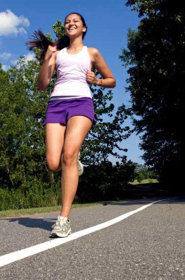 hardlopen snel afvallen