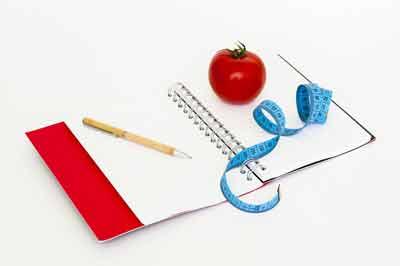 dagboek afvallen