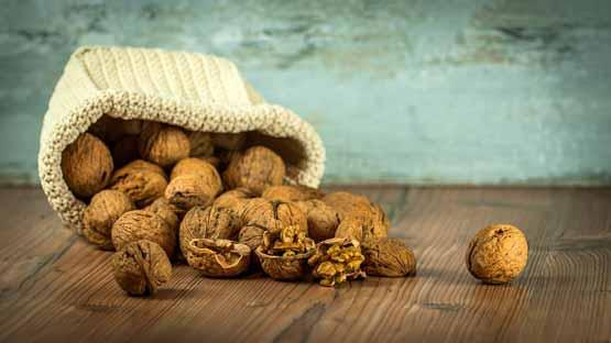 walnoten tussendoortje